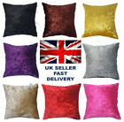 Starex  Soft Large Crush Velvet Cushion Covers 10 Colours and  3 Size