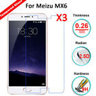 2016 3Pcs 9H Real Premium Tempered Glass Screen Protector Film For Meizu MX6