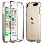 Real Clear thin Flexible TPU Gel Soft Back Cover Case For Apple Ipod 6 & ipod 5