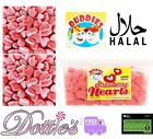 Strawberry Hearts  Pick n Mix Traditional Retro HALAL Sweets Wedding Choose Qty
