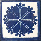 #C016 TILE MEXICAN HAND MADE HAND PAINTED TALAVERA TILES WALL OR FLOOR USE DECOR
