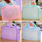 New Women Portable Makeup Bag Cosmetic Travel Toiletry Wash Case Waterproof Tote