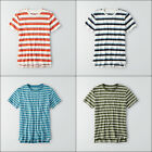 New Mens American Eagle Outfitters AEO Stripe Crewneck T-Shirt Size L