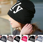 Lady Women Letter Autumn Warm Hat Casual Leisure Cotton Printing Soft Cap New