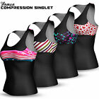 Womens Ladies Gym Fitness Jogging Sports Racer Back Vest Zumba Singlet Tank Top