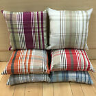 "Argyll Tartan Cushion Cover 17"" x 17"" Made In UK, 6 Colours, Double Sided Fabric"