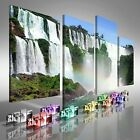 Gorgeous Water Falls Offset Canvas Print Large Picture Wall Art