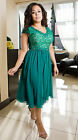 Elegant Ladies Wedding Formal Gown Party Evening Prom Celeb Dress Plus Size