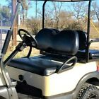 Club Car Precedent Custom Golf Cart Front Seat Cover Set - NO STRIPE STAPLE ON