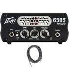 Peavey 6505 Piranha Micro Preamp Tube Solid State Guitar Amp Head +FREE Cable