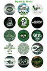 "NEW YORK JETS 1 "" CIRCLES  BOTTLE CAP IMAGES. $2.45-$5.50 ****FREE SHIPPING**** $5.5 USD on eBay"