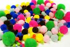 Pom Pom Balls Crafts Doll Cat Toy Kitten DIY Acrylic 5 Sizes 17 Colors Available