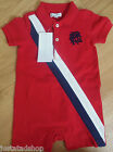 Ralph Lauren baby boy babygro all-in-one romper coverall 6-9 m BNWT designer