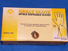 Great Glove, Nitrile Textured Disposable Gloves Choose your size S, M, L, XL