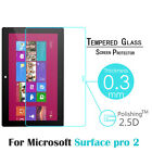 For Microsoft Surface Pro2 10.6'' 9H Tempered Glass Screen Protector Film Cover