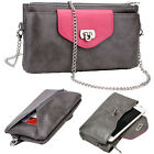 Kroo Universal Vogue Smartphone Wallet Case w/ Hand Strap and Chain EI64VG-1