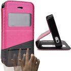 Kroo Touch Slide to Answer Cover Case for Apple iPhone 4 4s IPH4SL-1