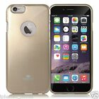 Genuine Goospery Gold Jelly Case Cover + Apple LOGO Cutout For iPhone 6/6s Plus