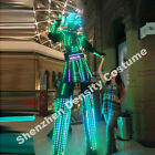Super LED Robot Costume Illuminated Suits - Male/Female, Laser Gloves Included!