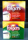FOLDERS COFFEE singles bags Flavors Choices PICK ONE