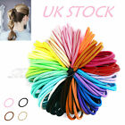 50 Quality Thick Endless Snag Free Hair Band Elastics Bobbles Bands Ponios Mixed
