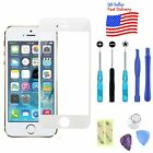 Replacement Face Screen Glass Lens+Repair Kit for iPhone SE/5/5S AT&T/Sprint