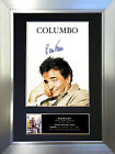 COLUMBO Peter Falk Signed Autograph Mounted Reproduction Photo A4 Print no312
