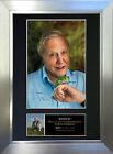 DAVID ATTENBOROUGH Signed Autograph Mounted Reproduction Photo A4 Print 339