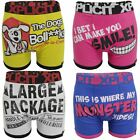 Xplicit Twin Pack Boxer Shorts Boxers Funny Rude