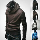 Men's  Slim Hoodie Warm Hooded Sweatshirt Coat Jacket Outwear Sweater Hot