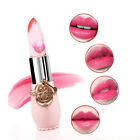 Flower Jelly Lipstick Sexy Waterproof Moisturize Temperature Change Color Lip