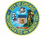 Seal Of Chicago Sticker / Decal R633