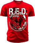 Men's R.E.D. Friday T-Shirt Remember Everyone Deployed S M L XL XXL