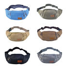 Three Zipper Pockets Fanny Pack Case Waist Bag with Cell Phone Pouch Exquisite