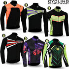 Mens Cycling Jersey Long / Full sleeve Winter Thermal Cold Wear Cycling Jacket