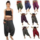 Gypsy Hippie Aladdin Hmong Genie Hammer Baggy Men Women Harem Pants Trousers