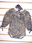 Infant Girls True Timber Camo Long Sleeved Bodysuit Size Newborn - 18-24 Months