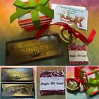 *Polar Express Believe Large Silver or Gold Jingle Bell Christmas Eve box Santa*