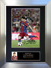 LIONEL MESSI No1 Barcelona Signed Autograph Mounted Photo Repro A4 Print no141