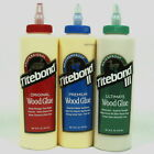 Titebond wood glues 16fl oz 473mls titebond original, titebond ll, Titbond lll