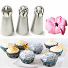 1/3pcs/Set Sphere Ball Tips Russian Icing Piping Nozzles Tips Pastry Cupcake