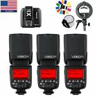 Godox V860II-C E-TTL II HSS 1/8000s 2.4G GN60 Li-ion Camera Flash for Canon EOS <br/> US Stock VingVB18 Battery Contain For Canon