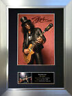 SLASH Guns N' Roses Signed Autograph Mounted Photo Reproduction A4 Print no95