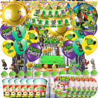 Plants Vs Zombies Birthday Balloon Party Decoration Supply Pvz Balloons Supplies