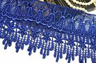 "5.75"" Blue Black Lilac Pink Champagne Red White Gray Gold Venice Guipure Lace"