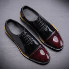 Men's Cow Leather Shoes O6312 Dress Formal Lace ups Black Brown Size 38~44 5~11
