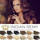 """16""""/18""""/20"""" REMY Micro Loop Ring HUMAN Hair Extensions UK Seller FAST DISPATCH"""