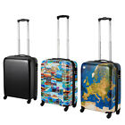 "21"" ABS Cabin Bag Suitcase Cabin Hard Shell Travel Trolley Hand Luggage"