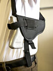Walther C99 | Nylon Horizontal Shoulder Holster w/ Double Mag Pouch. MADE IN USA