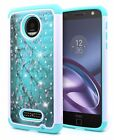 For Various Phone Model Diamond Bling Hybrid Silicone Protective Phone Skin Case